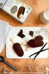 Coconut Bliss Vanilla Island in Chocolate Bars (Bitter-Sweet-) Tags: vegan food sweet treat dessert frozen novelty coconutbliss coconut nondairy dairyfree rich decadent indulgent vanilla chocolate darkchocolate delicious glutenfree healthy vanillabean onastick