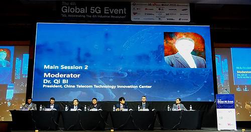 4th – Seoul, Coréia, 5G Forum, 22-23 de novembro de 2017 - 3