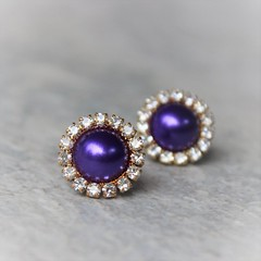 Purple pearl earrings with gold or silver setting! https://t.co/fBhHHh2bLh #etsy #jewelry #shop #shopping #gift #online https://t.co/2IZ2vT76zv (petalperceptions.etsy.com) Tags: etsy gift shop fashion jewelry cute