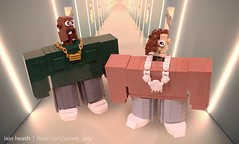Kanye West and Lil Pump in LEGO (Ochre Jelly) Tags: lego moc afol rap hip hop hiphop kanye west lil pump video humor parody music character bricks spike jonze