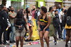 DSC_8221 Notting Hill Caribbean Carnival London Girls Aug 27 2018 Stunning Braless Ladies with Denim Blue Cut-off Jeans Shorts (photographer695) Tags: notting hill caribbean carnival london girls aug 27 2018 stunning ladies braless with denim blue cutoff jeans shorts