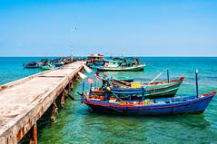 Phu Quoc, Vietnam (Kevin R Thornton) Tags: d90 phuquoc landscape travel hamninh boat vietnam nikon transport thànhphốphúquốc tỉnhkiêngiang vn