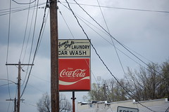 Home Style Laundry & Car Wash (Midnight Believer) Tags: marionkentucky cocacola sign signage crittendencounty smalltown business laundry carwash roadside