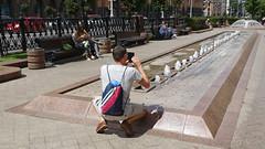 Minsk '18 (faun070) Tags: minsk street belarus jhk tourist bagpack dutchguy