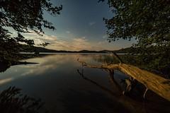 Mondnacht am Laacher See (clemensgilles) Tags: nachtfotografie astrofotographie deutschland summer caldera vulkan lake see sterne sternenhimmel starlight moonshine moonlight eifel germany beautiful