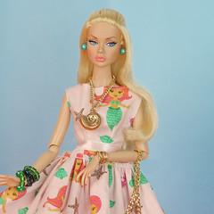 Poppy Parker Mermaid dress (halscary) Tags: poppy parker mermaid dress disney doll color infusion fashion royalty integrity toys