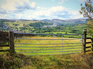 Hope Valley looking from Bradwell Edge