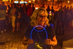 2018-8-25 WaterFire Volunteer Ambassador, Duane Brouillette (Photograph by Jeff Meunier)