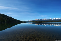 Pyramid Lake (Drunkphotography.com) Tags: pyramidisland pyramidlake pyramidmountain nature lakes reflection canada water waterreflection mountains snowcapped drunkphotographycom otisdupont blogdrunkphotographycom travelphotography oatografia sonya6000 sonya6300 sonyrx100v