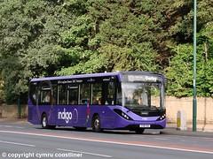 Trent Barton 205 - YY18 TOV (Cymru Coastliner) Tags: trentbarton adlenviro200mmc 205 yy18tov bus indigo qmc nottingham wellglade