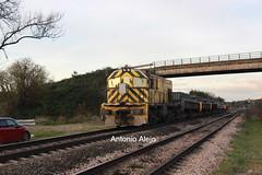 El VAlle. Planchas dirección Aboño. (tonialejo 251.025) Tags: elvalle tren mercancias arcelormitral asturias