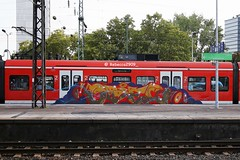 ODES (rebecca2909) Tags: köln cologne trains train graffiti graff odes