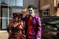 Invasion Colchester 2018 I (Lee Nichols) Tags: invasioncolchester2018 canoneos600d cosplay cosplayers costume costumes comiccon acecomics colchester photomatix photoshop invasioncolchester steampunk joker thejoker