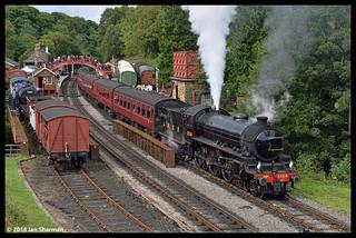 No 1264 27th Aug 2018 North Yorkshire Moors Railway Gothland