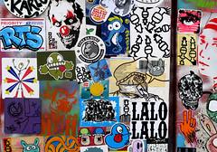 stickercombo (wojofoto) Tags: amsterdam nederland netherland holland streetart wojofoto wolfgangjosten stickers stickerart sticker wojo stickercombo combo bunnybrigade