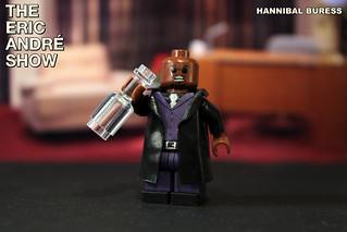 Custom LEGO The Eric Andre Show: Hannibal Buress (Morpheus)