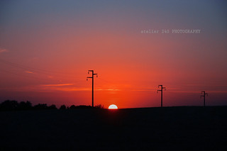 Fiorano - tramonto