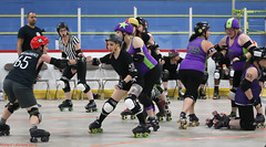 Rumble Game 5: Shipyard Sirens (Saint John NB) vs Gueules Rouges (Quebec City QC) (Aug 18 2018, Fredericton NB) (RicLaf) Tags: derby rollerderby capitalcityrumble capitalcityrollers fredericton newbrunswick shipyardsirens fogcityrollers saintjohn gueulesrouges rollerderbyquebec quebec quebeccity
