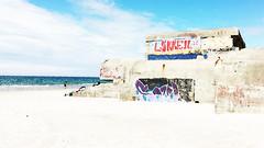 Concrete beaches (tom.too) Tags: bunker graffitti himmel meer strand beach sea sky concrete beton