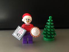 Christmas with the Joker (bricksfreaks) Tags: joker christmas batman gotham dc comics lego custom dccomics customlego batmananimatedseries bricks bricksfreaks superheroes villains