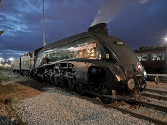"60009 ""Union of South Africa"" (Mike_47714) Tags: steam train loco locomotive railway engine lner br british railways a4 pacific sir nigel gresley no9 60009 union south africa norwich 7 september 2018 792018"