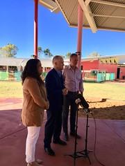 PM Braitling Primary School visit, Alice Springs, 08/08/2018