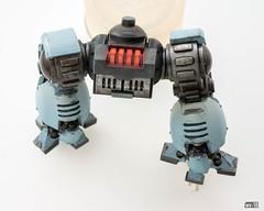 Redemptor: Radiator (Will Vale) Tags: 28mm 40k scifi spacewolves redemptordreadnought scalemodel primaris gamesworkshop wh40k spacemarines