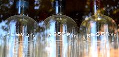 Reservoir Color (pjpink) Tags: reservoir whiskey bottles reflection scottsaddition rva richmond virginia august 2018 summer pjpink 2catswithcameras