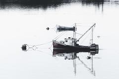 Two Boats in the Harbor (8230This&That) Tags: maine newengland coastalmaine coastalnewengland fishingvillage lobsterboat roadtrip seascape lubec harbor oceanside coastalcharm