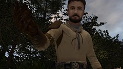Kyle Katarn At Your Service (BarricadeCaptures) Tags: starwars jediknightjediacademy jediacademy starwarsjediknightjediacademy starwarsjediacademy swjka yavin yavin4 yaviniv yavin1b kylekatarn kyle trees gamescreenshots gamephotography videogame screencapture screenshot screencap