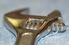 Cog Wheel. (Omygodtom) Tags: macromondays cogwheel steel macro bokeh detail tamron90mm nikon man tool