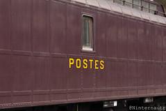 La poste (Un Ninternaute) Tags: mfpn oldtrain oldschool journéeseuropéennesdupatrimoine jep 2018 garedunord paris idf idfm speciaux transspécial train