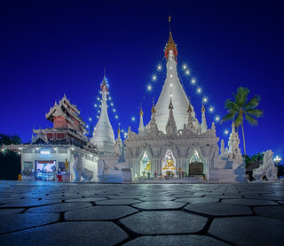 Temple in Mae hong son city