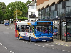Stagecoach 35113 Chesterfield (Guy Arab UF) Tags: stagecoach yorkshire 35113 yn06wcp alexander dennis dart slf pointer new beetwell street chesterfield derbyshire buses