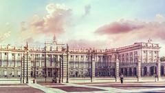 Palacio Real - Madrid (Ro Cafe) Tags: sonya7iii buildings architecture palace madrid city urban nikkor2470f28 street textured spain