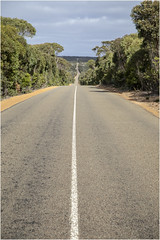 The Road . (:: Blende 22 ::) Tags: australia road red clouds trees kangarooisland canoneos5dmarkiv southaustralia ef2470mmf28liiusm