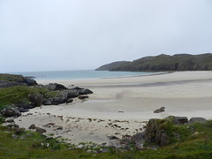 Polin Beach, Kinlochbervie, North West Sutherland, Aug 2018 (allanmaciver) Tags: polin beach north west sutherland scotland empty drizzle mist moody compact walk gates coast kinlochbervie allanmaciver