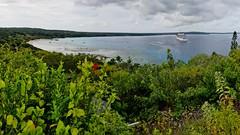 Carnival Spirit at Lifou. (edgetas.com - tasview.com) Tags: lifou carnivalspirit cruise cruiseship island bay beach