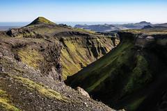 untitled (Maj. Major Major Major) Tags: southernregion iceland is ocean horizon mountains ravine grass moss sky summer leica leicam canyon