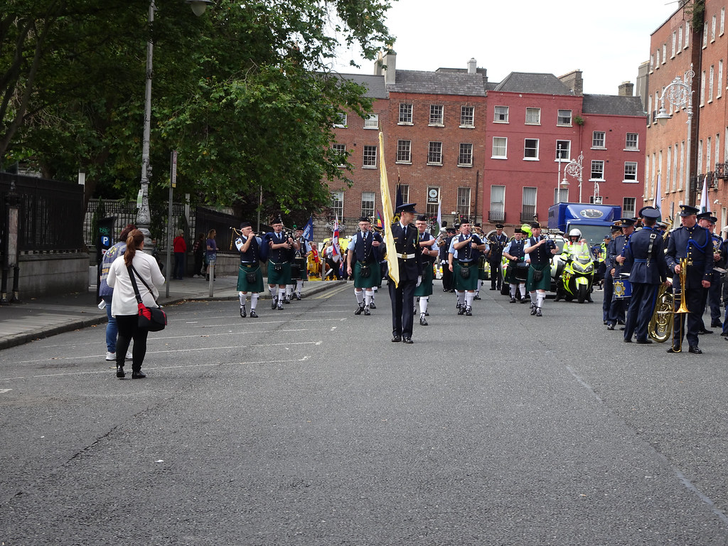 NATIONAL SERVICES DAY [PARADE STARTED OFF FROM NORTH PARNELL SQUARE]-143662