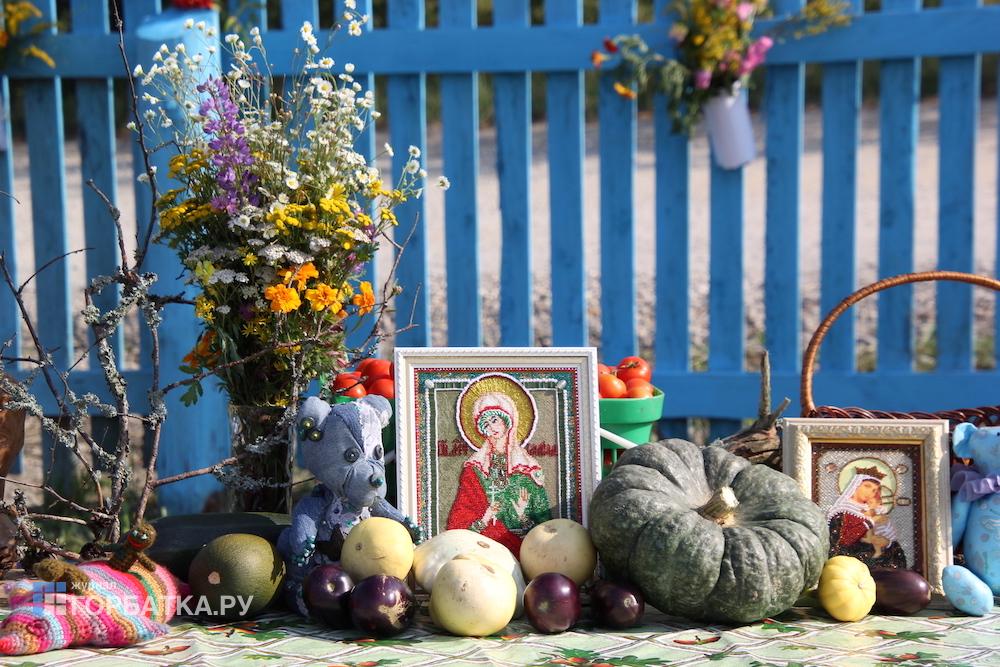 Праздник урожая в Новом Быту