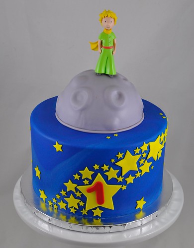 Remarkable Little Prince Birthday Cake A Photo On Flickriver Funny Birthday Cards Online Aeocydamsfinfo