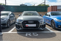 RS4 B9 (Alessandro_059) Tags: audi rs4 avant b9 grey crème de la car