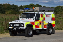 1st Defence - FN60OYC (matthewleggott) Tags: 1st defence fire rescue engine appliance fn60oyc land rover defender