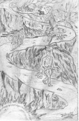 Em camino de la vida (ctmja) Tags: drawing dessin dibujo blancoynegro noiretblanc paz soldado soldier soldat guerra laguerre war