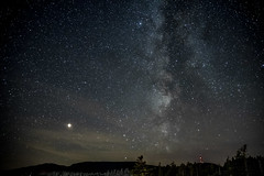 Gaspésie 6 (Luc Jacob) Tags: ciel gaspésie lieux vacance vacances villes voyage voyages étoiles voie lactée voielactée saturne