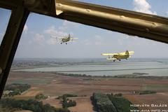 2018-09-08 Szatymaz IMG_5503_ HA-MBJ + HA-YHD (horvath.balazs1980) Tags: antonov an2 ancsa colt kétfedelű biplane szatymaz lhst ha hambj hayhd repülőnap airshow