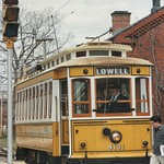 Lowell Massachusetts  - National Streetcar Museum - thumbnail