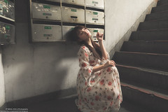 王心玥 (sm27077316) Tags: 王心玥 李 孟 峻 長裙 連身裙 裙 波西米亞 環南 陸橋 meng jyun li ps people photography portrait picture sg super sexy iso girl godox ad600 5d4 2470 事業線 戶外 攝影 寫真 taiwan taipei tr tr70 best beautiful beauty 性感 可愛 清純 光 影 快門 光圈 樓梯 髮絲光 笑 甜美 2018 08 19 私約 model lovely wonderful women canon flickr