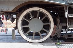 Solo Wheel (Un Ninternaute) Tags: 2d2 2d25525 sncf oldtrain oldschool idf ivry e525 afac facs unecto association journéesdupatrimoines french frenchtrain speciaux transspécial train